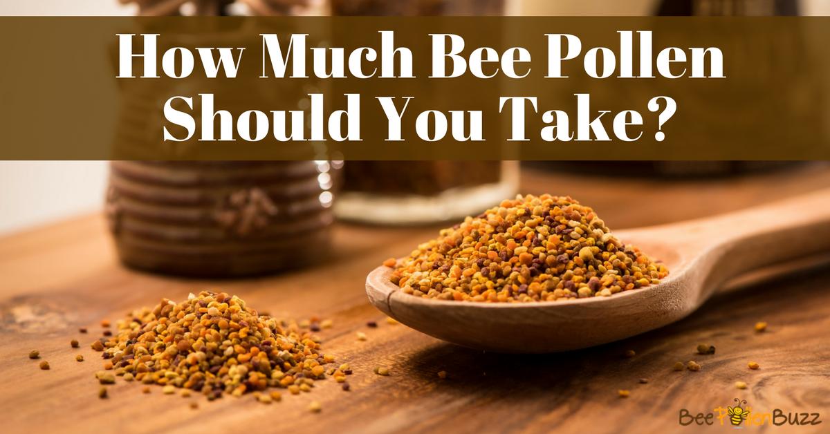 Hair Growth Vitamins >> Bee Pollen Dosage