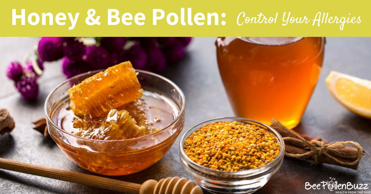 How to Control Allergies With Local Honey