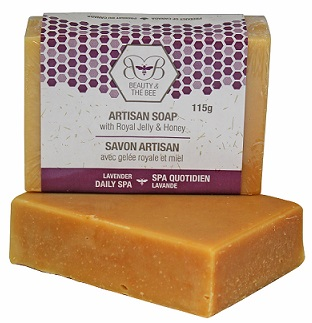 Learn more about our Daily Spa Royal Jelly soap