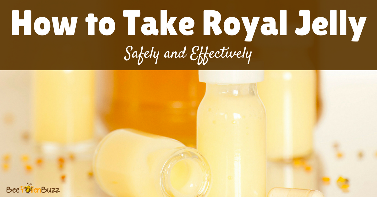 Royal jelly for depression